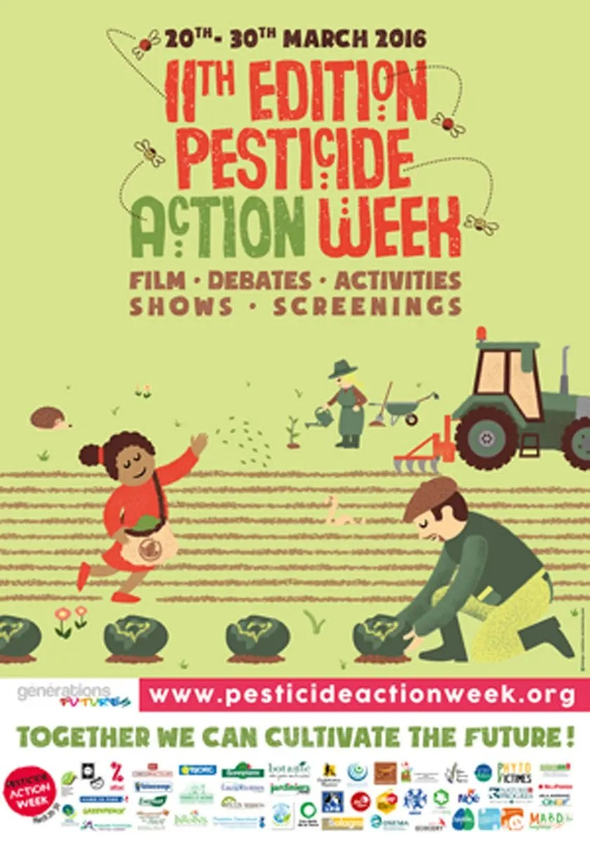 Pesticide Action Week 2016 Poster