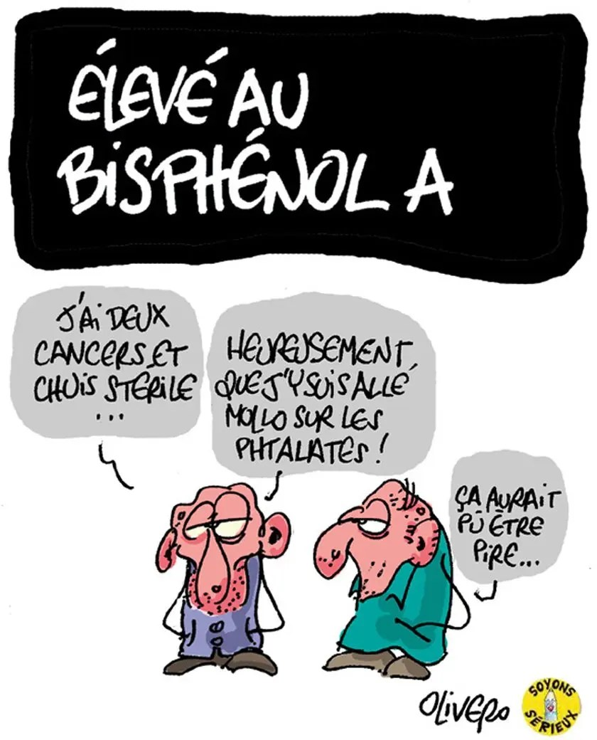 Elevé au Bisphénol-A
