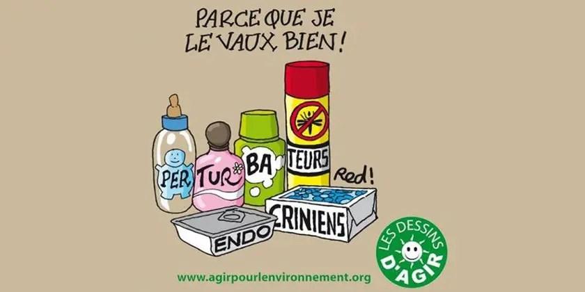 Les perturbateurs endocriniens en France