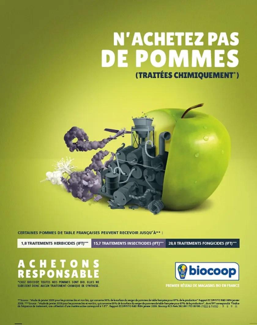 Des fruits trop beaux : n'achetez pas de pommes (traitées chimiquement)