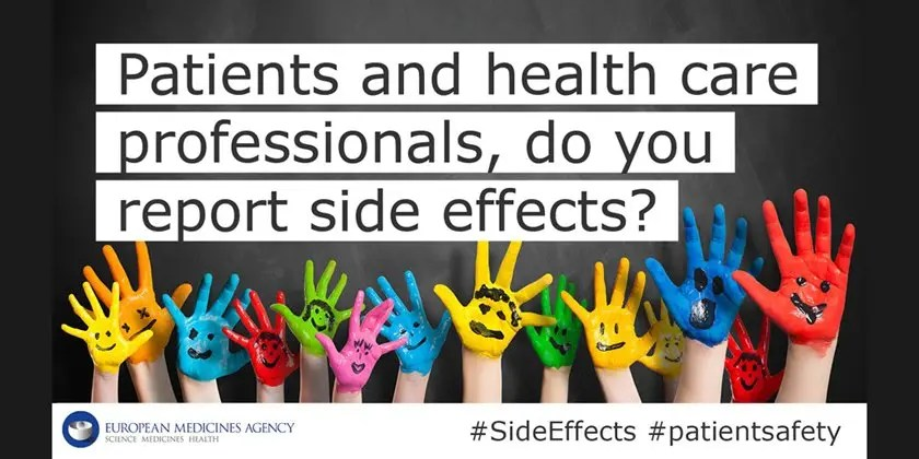 Reporting side effects of medicines