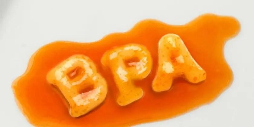 image of bpa in food