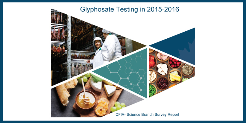 Glyphosate found in one third of food products in Canada