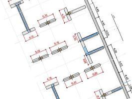 pilotes barrettes rectangulares, muro-guía, diseño, ejecución, batache, panelado, procedimiento