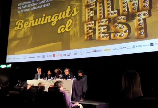 BCN Film Fest 2018 - Rueda de prensa 'La sociedad literaria y el pastel de piel de patata'