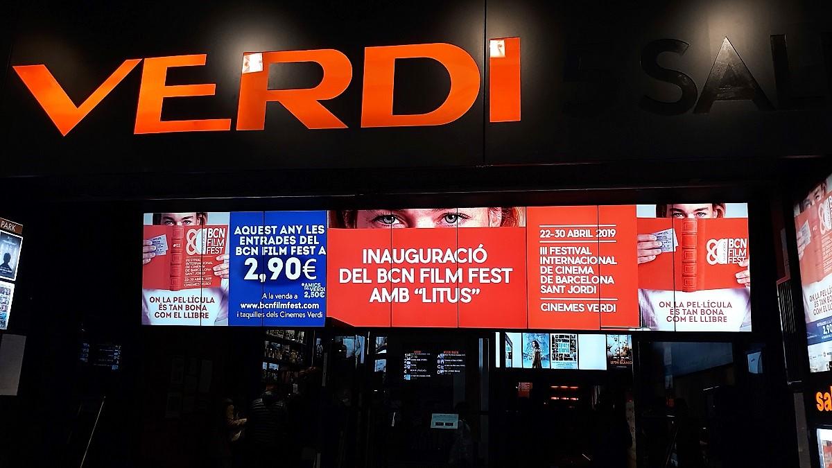 BCN Film Fest 2019 - Cines Verdi