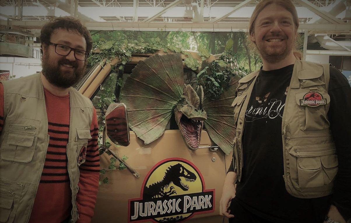 Salón del Cine 2019 - Set película Jurassic Park