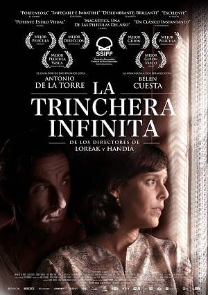 La trinchera infinita - cartel de cine