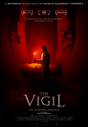 The Vigil - cartel de cine