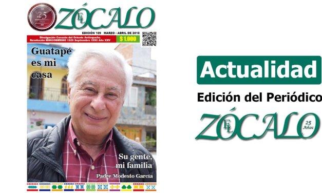 Periódico el Zócalo ed. 109