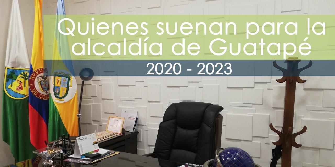 Los que suenan como candidatos a la alcaldía 2020-2023 en Guatapé