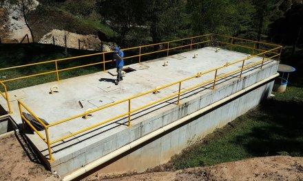 Planta de tratamiento de aguas residuales en florito El Peñol, conserva las quebradas del sector.