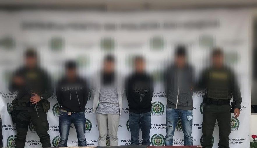 Presuntos ladrones de motocicletas en Guatapé fueron detenidos