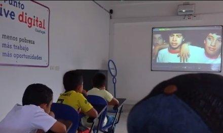 Cine club digital en el Punto Vive Digital