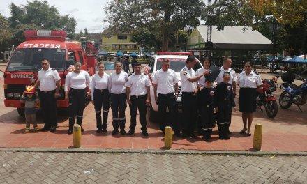 Bomberos Guatapé celebra 20 años de servicio