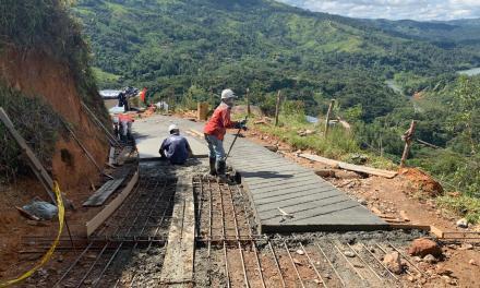 Con recursos de regalías, MASER desarrolla obras en la región