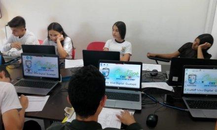 35 estudiantes del grado 9º.  de la Institución Educativa participan del Preuniversitario
