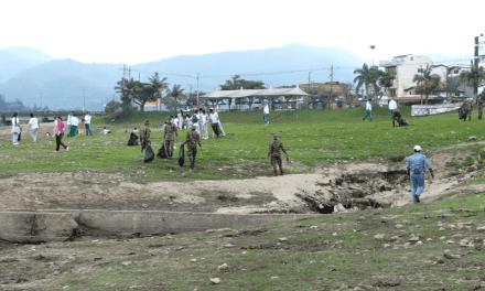 Jornada de limpieza del malecón de Guatapé