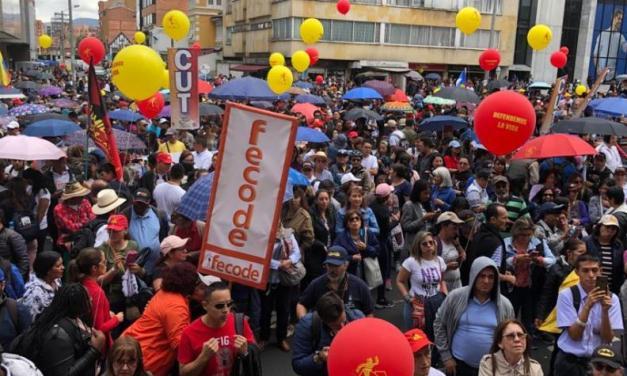 avanza paro de maestros convocado por FECODE