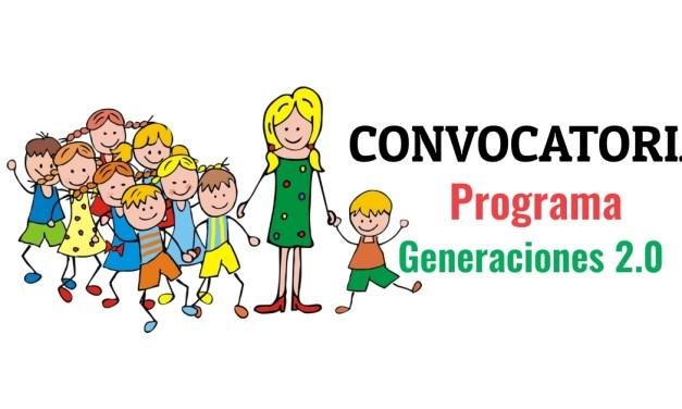 Convocatoria generaciones 2.0
