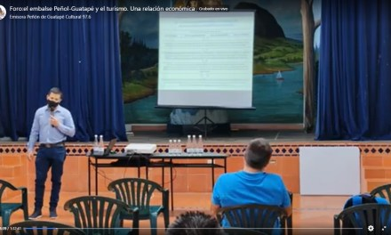 Foro: El embalse Peñol-Guatapé y el turismo. Una relación económica