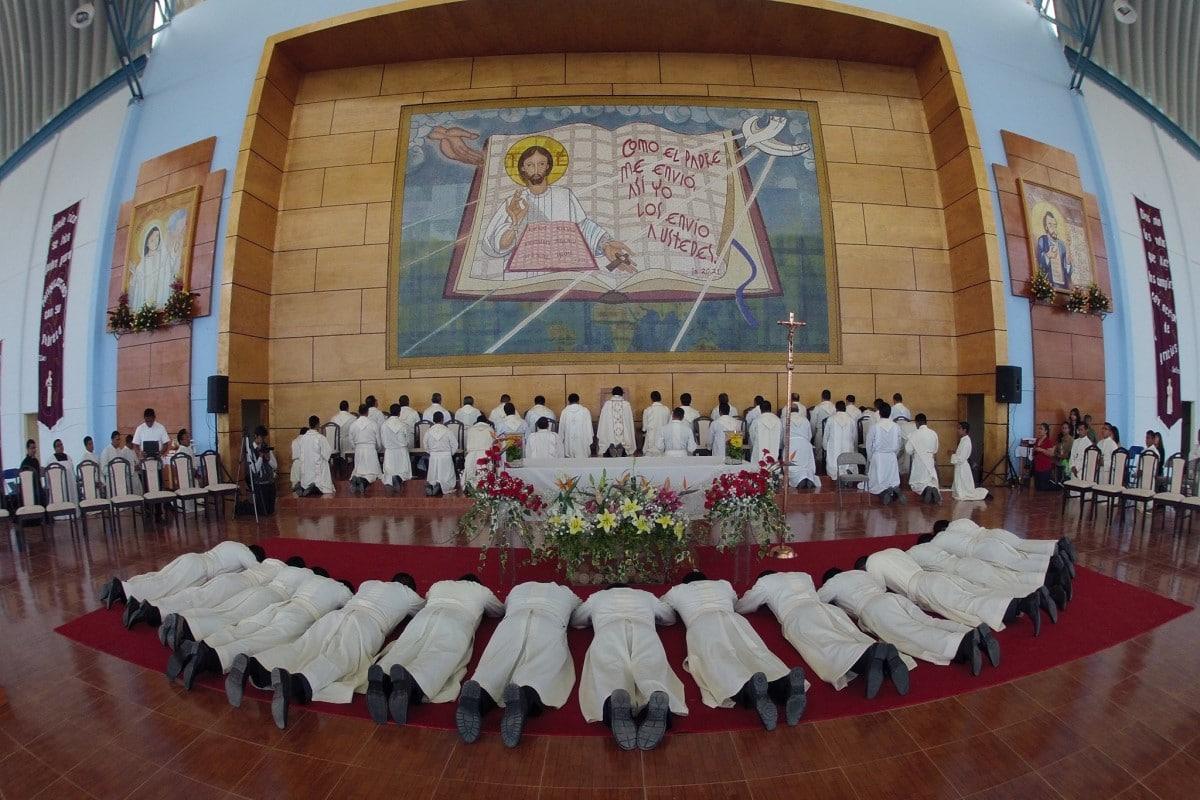 Ordenaciones de los Misioneros Servidores de la Palabra. Foto: Cortesía MSP