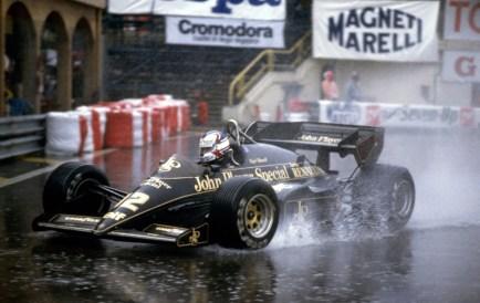 Nigel Mansell, Lotus T95 (GP Monaco 1984)