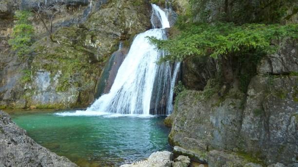 Los Chorros del Río Mundo, en el colindante PN de los Calares del Río Mundo y de la Sima