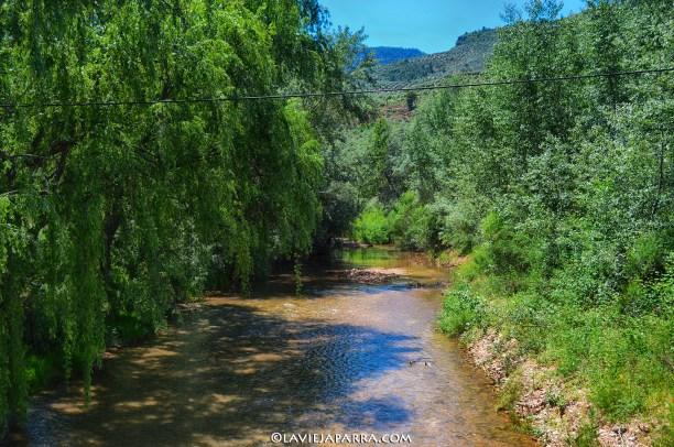 Río Guadalimar a su paso por La Puerta de Segura