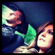 Imagen nuestra en el coche