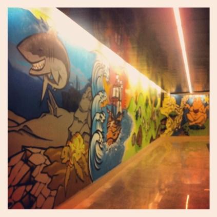 Nuevos Pasillos túnel Porta Garibaldi