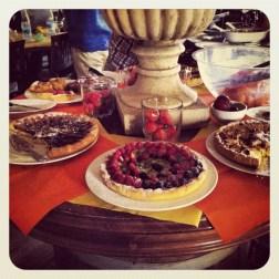 Buffet libre de tartas caseras