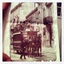 Antiguos tranvías milaneses