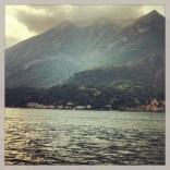 Desde la punta en Bellagio