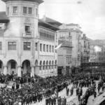 Procesión de Semana Santa en Santander
