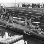 1918: submarinos alemanes en Santander