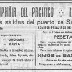 Santander-Cuba:Compañía del Pacífico
