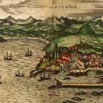 Santander en 1564 según George Braun,arcediano de Dormund (I)