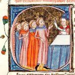 Maestre Gonzalo Pérez c 1295, tercer Abad de Santander