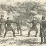Duelo incruento a pistola entre el general montañés Rafael Quesada y don Manuel Potestad