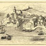 Santander en el Siglo XVI visto desde San Martín
