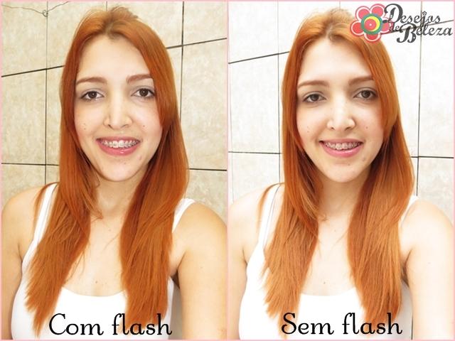 ruiva: cabelo ruivo yellow 9.4 e 9.3 frente