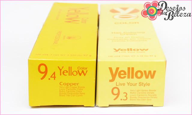 ruiva: yellow 9.4 e 9.3