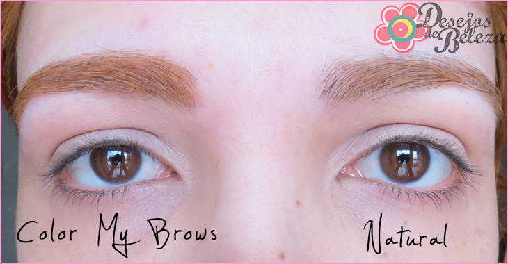 color my brows antes e depois