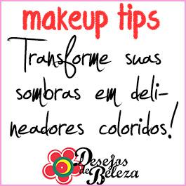 Makeup tips: Transforme suas sombras em delineadores!