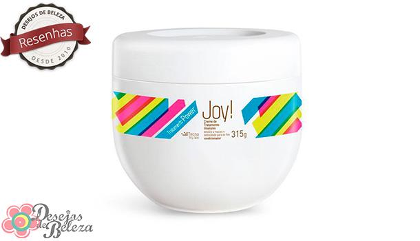 Testei: Joy! Tratamento Power – Creme de Tratamento Intensivo