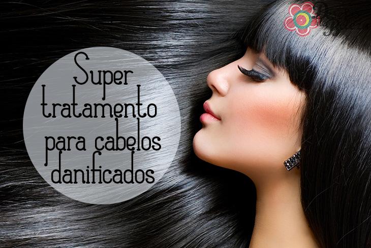 Super tratamento para cabelos danificados