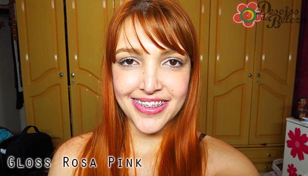 diva tropical- gloss rosa pink - desejos de beleza