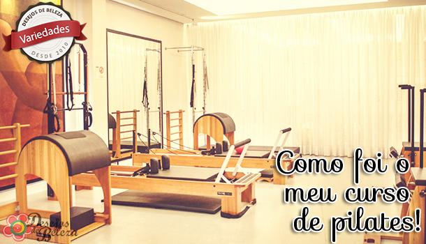 Fisioterapia: O curso de pilates