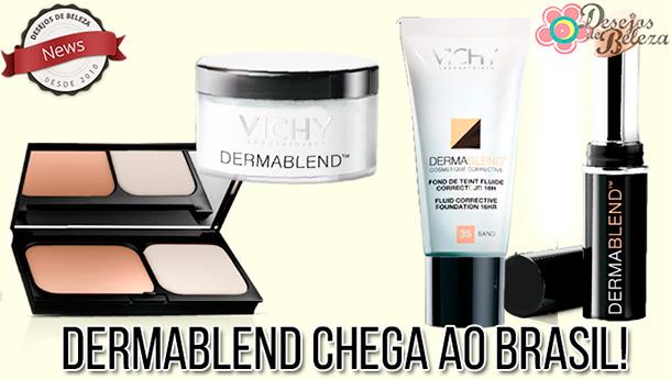 Dermablend chega ao Brasil